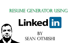 Convert Linkedin To Resume How To Create A Quick Resume Using Linkedin Youtube