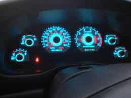 mustang custom gauges 99 04 mustang v6 glow gauges review