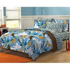 Surfer Comforter Sets Kids Bedding Extreme Sports Skateboarding Surfing Boys Twin