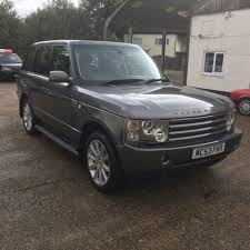 land rover gray used land rover range rover grey for sale motors co uk