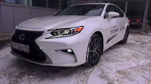 lexus es 2016 2016 lexus es 250 premium 2 start up engine and in depth tour