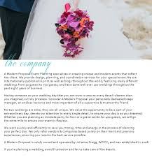 wedding planning companies edmonton wedding planner a modern