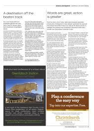 Convention Bureau Christchurch Canterbury Canterbury Today Issue 117 By Academy Issuu