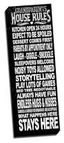 Family House Rules by Amazon Com Grandparents House Rules Black Quote 12