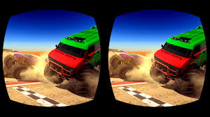 monster trucks racing videos vr monster truck racing 3d android apps on google play