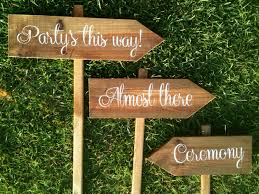 personalized wooden wedding signs personalized wooden wedding signs ceremony signs reception