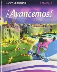 amazon com avancemos student edition level 3 2013 spanish