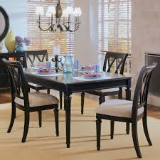 american drew camden black round dining table set table set