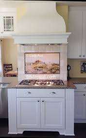 painted tiles for kitchen backsplash kitchen backsplash kitchen murals painted tile murals