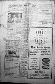index of names m z from the 1950 u0026 1952 bridgeport index newspaper