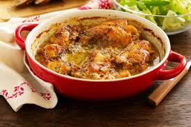 cuisiner le lapin à la moutarde lapin à la moutarde recette viandes supertoinette