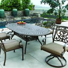 Cast Aluminum Patio Furniture Clearance by 30 Lastest Patio Dining Sets Clearance Sale Pixelmari Com
