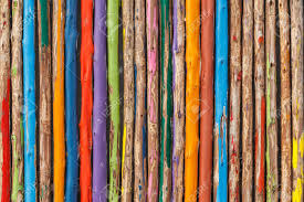 colorful wood fence stock photo picture and royalty free image