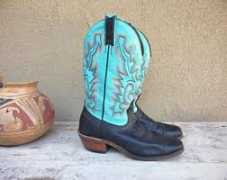 womens cowboy boots in canada boulet boots etsy