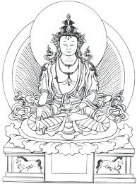 Buddhist Coloring Pages Printable Coloring Pages Mythology Gods Buddhist Coloring Pages