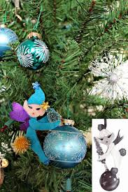how to make retro kistchy 1950s pixie ornaments with free