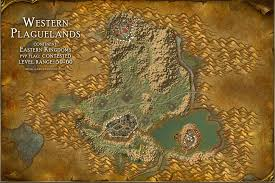 map quests plaguelands map with locations npcs and quests of