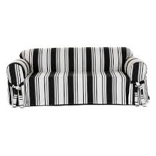 Striped Slipcovers For Sofas Classic Slipcovers Brushed Twill 2 Pc Slipcover Hayneedle