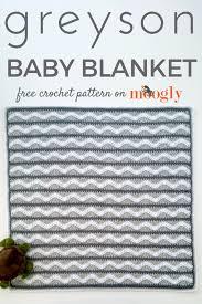 free crochet home decor patterns greyson baby blanket free crochet pattern on mooglyblog com