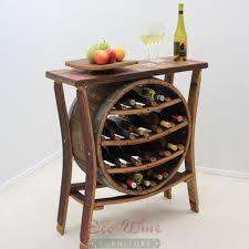 wine tables and racks wine barrel wine racks page 1 eco wine furniture