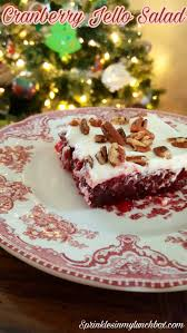 cranberry jello salad recipes thanksgiving cranberry jello salad u2013 sprinkles in my lunchbox