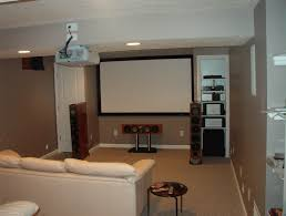 contemporary sitting space with basement renovation ideas by using