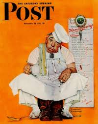thanksgiving day blues norman rockwell november 28 1942 norman