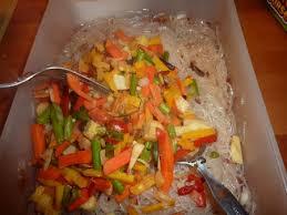 soja cuisine recettes recette salade chinoise poulet vermicelles de soja cuisinez