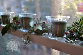 Nice Christmas Window Decorations by Simple Christmas Window Decor Cottage In The Oaks