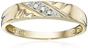 wedding band photos 10k yellow gold diamond accent wedding band jewelry