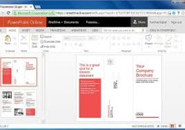 how to make an online brochure office 365 online templates