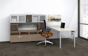 Office Desk Configurations Mayline Introduces In Stock E5 Series Desk Configurations