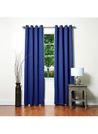 solid grommet thermal insulated blackout curtains 104
