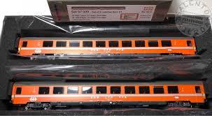 carrozze cuccette salento railroad rail model shop l s models 47324 set 2