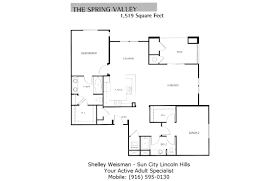 sun city lincoln hills floor plans shelley weisman real estate