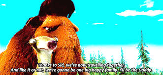 group projects told characters ice age
