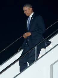Go Down Stairs by Donald Trump Jabs Obama Walk U0027so Inelegant And So Unpresidential