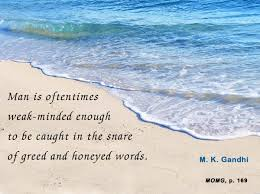 mahatma gandhi forum thought for the day