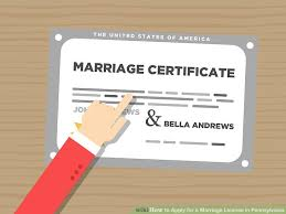 how to apply for a marriage license in pennsylvania 9 steps