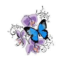 blue butterfly tattoo tattooimages biz
