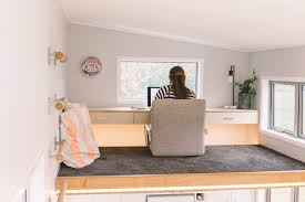 Pictures Of Interiors Of Homes Millennial Tiny House Is Packed With Space Saving Ideas