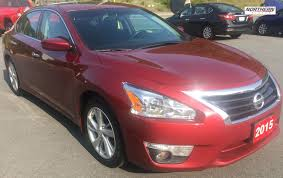 grey nissan altima used 2015 nissan altima sl heated seats sunroof back up camera