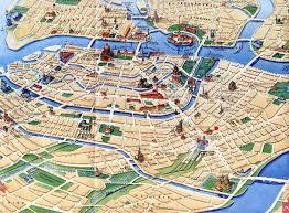 city map ecole de langues class city map