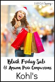 black friday kohls 2014 kohls everyday savvy
