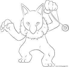097 hypno pokemon coloring pages printable