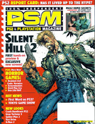 vgjunk silent hill magazine covers