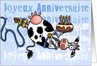 cow greeting cards collections of greeting cards in the language