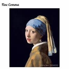 pearl earring painting girl with pearl earring 1665 meisje met de parel by johannes