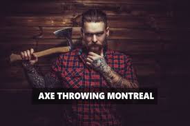 rage axe throwing center in montreal violently good time