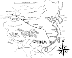 Blank Map Of East Asia by China Outline Map Blank Outline Map Of China Clip Art Library